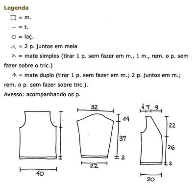 TEJIENDO A DOS AGUJAS: Punto tricot calado en portugues/español