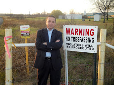 No Trespassing Sign Installed by Pipeline Companies