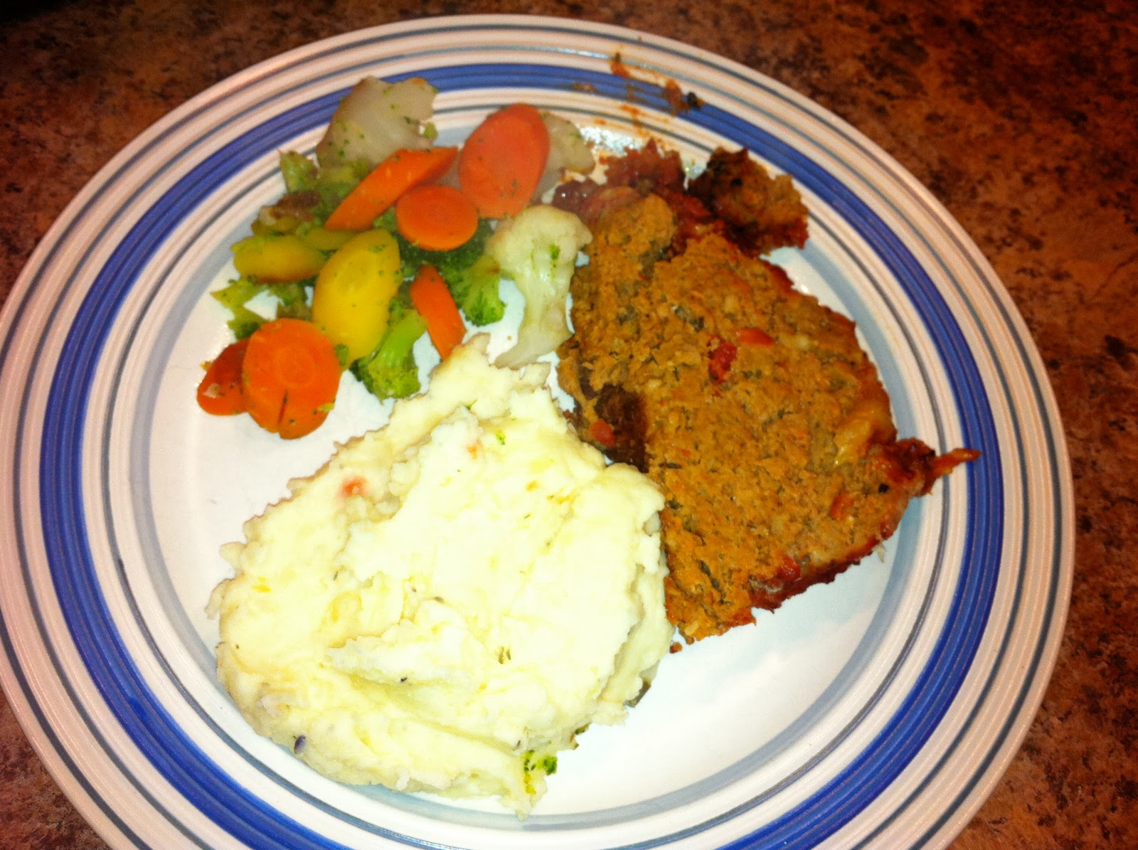 The Foodie Mommie: Meatloaf with Garden Vegetable Herb ...