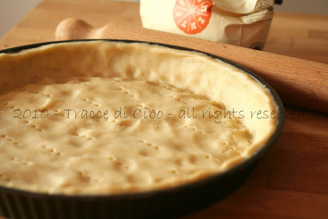 pasta brisée, pasta brise, pasta brisèe, impasti base, torte rustiche, quiche