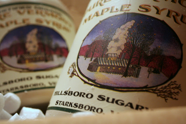 maple syrup, sciroppo d'acero, vermont