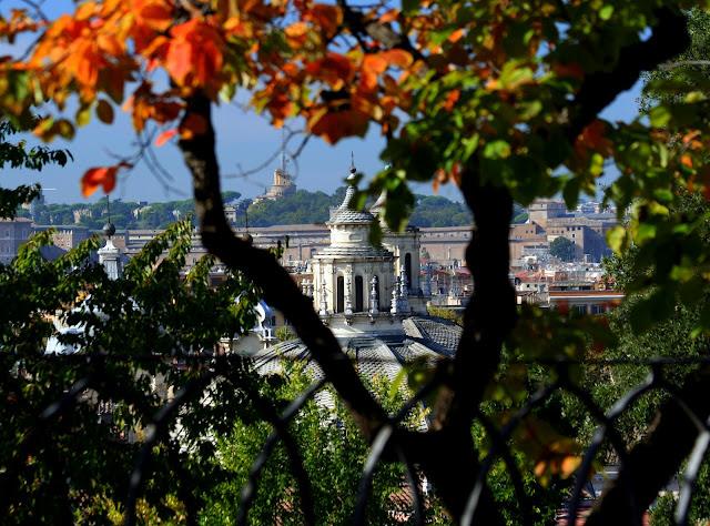 Giardini villa borghese, roma