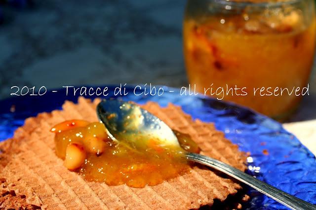 marmellata, fichi, aurum, mandorle, confettura