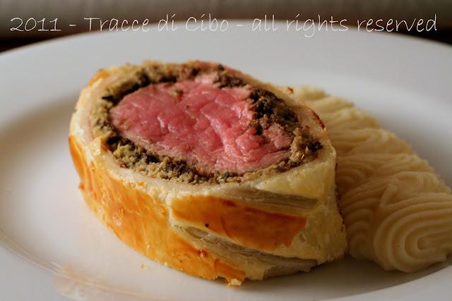 filetto alla wellington, filetto in crosta