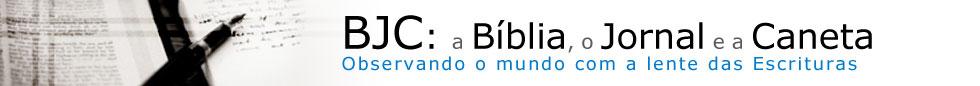 A Bíblia, o Jornal, e a Caneta