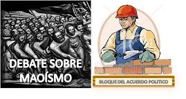 DEBATE CON EL SENDERISMO TRAIDOR, HOY ELECTORERO
