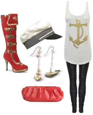 Nautical Theme Costumes http://www.charadestyle.com/2009/01/costume-culture-nice-and-nautical.html