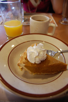 Pumpkin Pie, Denny's, Las Vegas