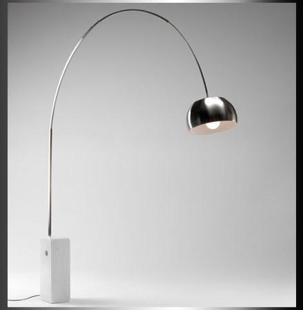Interior design arco floor light by achille castiglioni for Arco castiglioni
