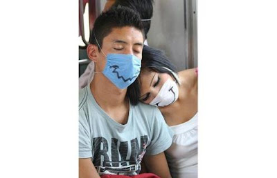 Swine Flu Protection Masks Personalized