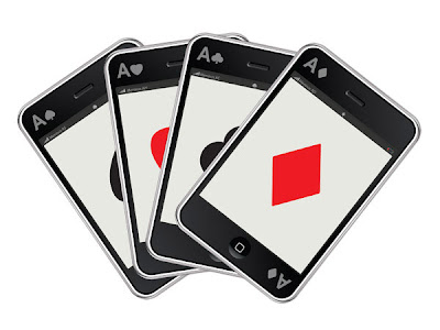 Playing cards that look like Iphones