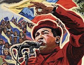 Con Chávez