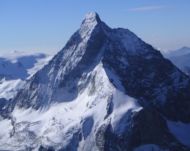 View of the Matterhorn from the Dent Blanche