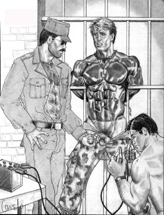Male bdsm drawings the