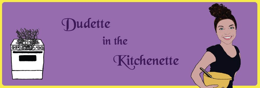 Dudette in the Kitchenette