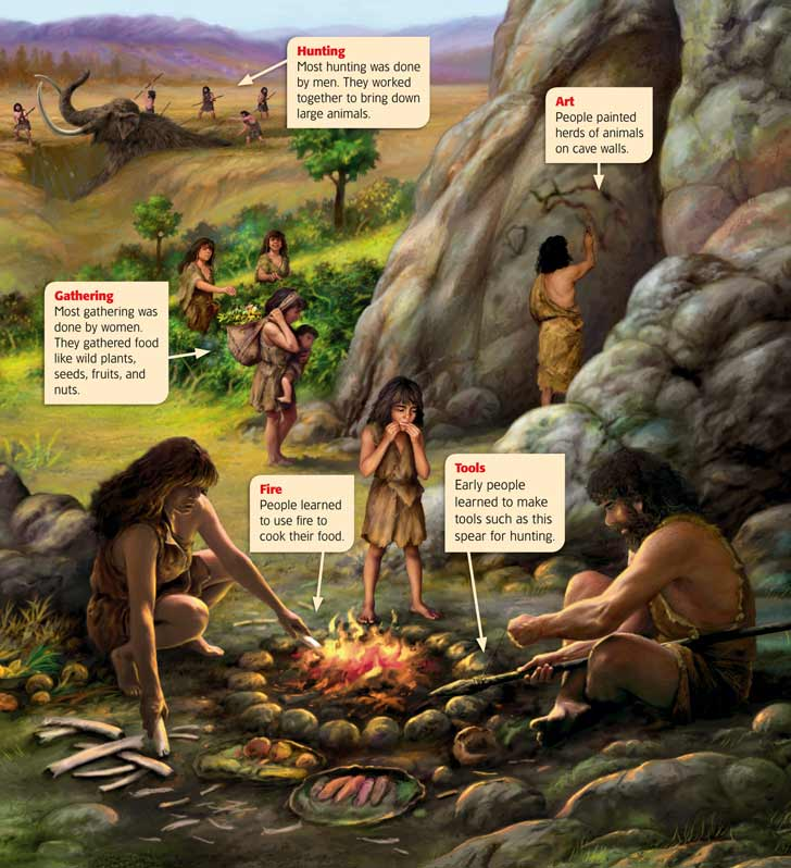 dispelling the myth of man the hunter and woman the gatherer