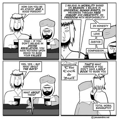 Jesus and Mo, Love