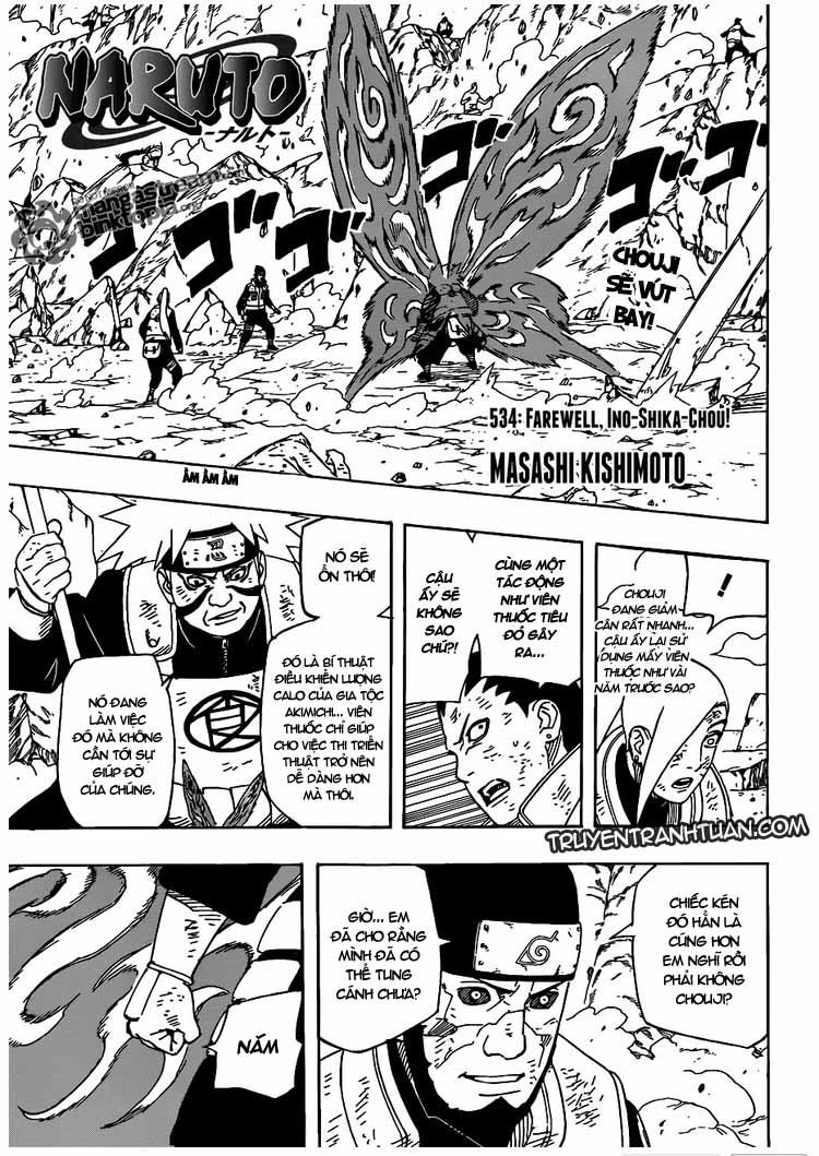 Naruto - Chapter 534 - Pic 1
