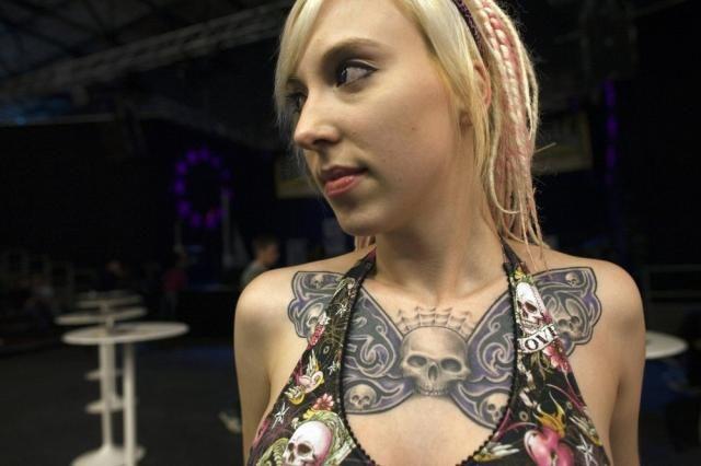 White Power Tattoos for Women