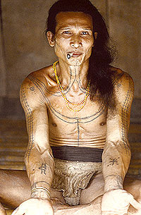 Apparently World's oldest tattoo is made in Indonesia.