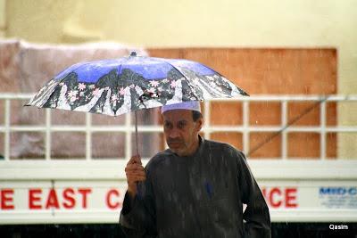 Rain inAjman