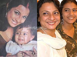 kajol  always laughing : topchild.blogspot.com Indian top stars childhood teen age and marriage photos