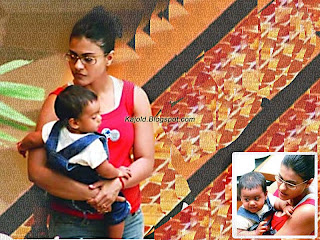 kajol with her daughter: kajold.blogspot.com Indian top stars childhood teen age and marriage photos