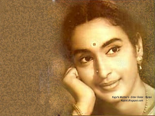kajol aunt nutan: kajold.blogspot.com Indian top stars childhood teen age and marriage photos