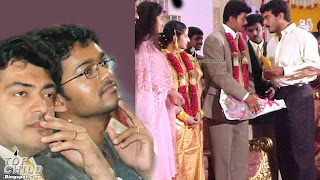 Tamil Actor Vijay weds Sangeetha. Photos from Kalyana Mandapam