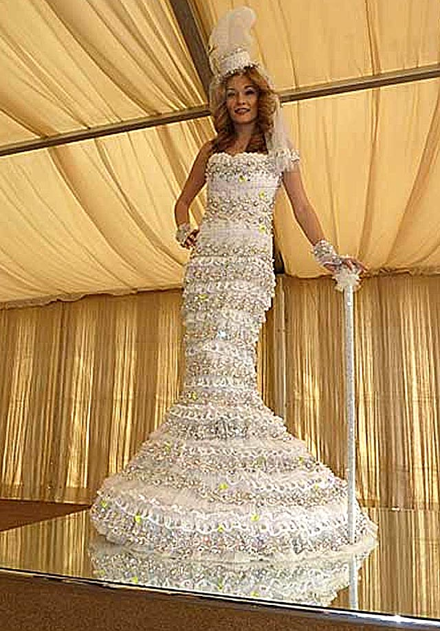 kata meeta photos world 39 s most expensive wedding dress