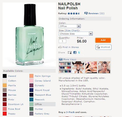 I HELLA want this color, but I also want ALL the other colors too!
