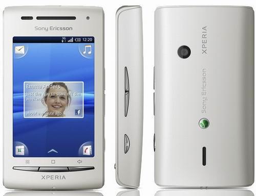 sony ericsson xperia x8 Pengertian HP Android dan Macam macam Versi HP Android
