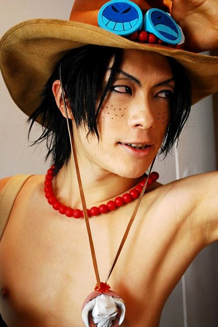 Cosplay One Piece Portgas_D__Ace_by_kaname_lovers
