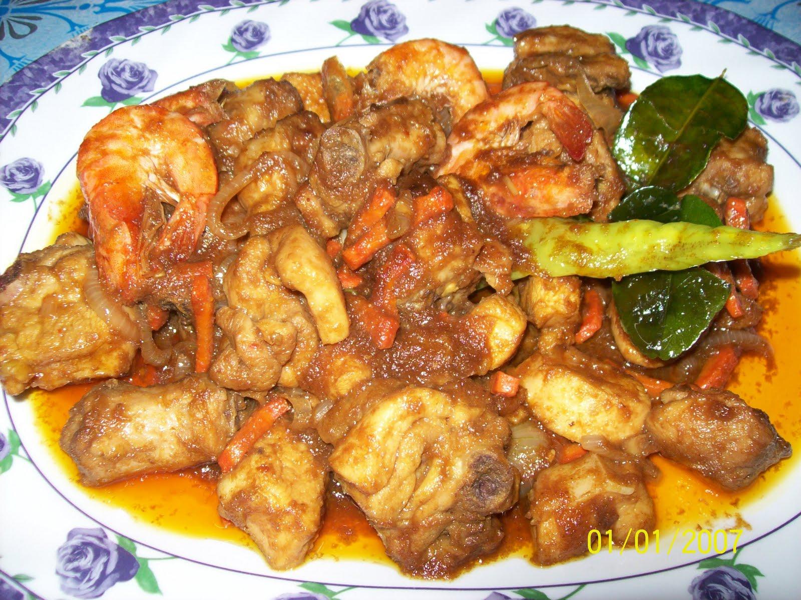 Resepi Ayam Masak Pedas Thai | Resepi Masakan Melayu