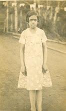 Mamãe com 9 anos