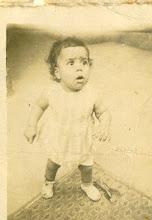 Eu com 1 ano de idade