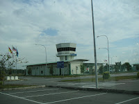 The new airport in Limbang.
