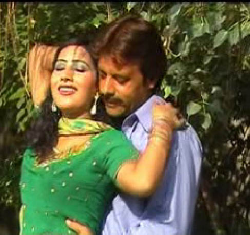 Pashto Film Actor Jahangir Khan Jani With Actress Sahiba Noor Photos