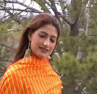 Kiran photos in Kochai style, Kiran in red dress photos, Kiran pashto ...