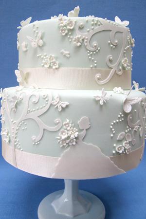Fairy Tale wedding cake wwwrosalindmillercakescom