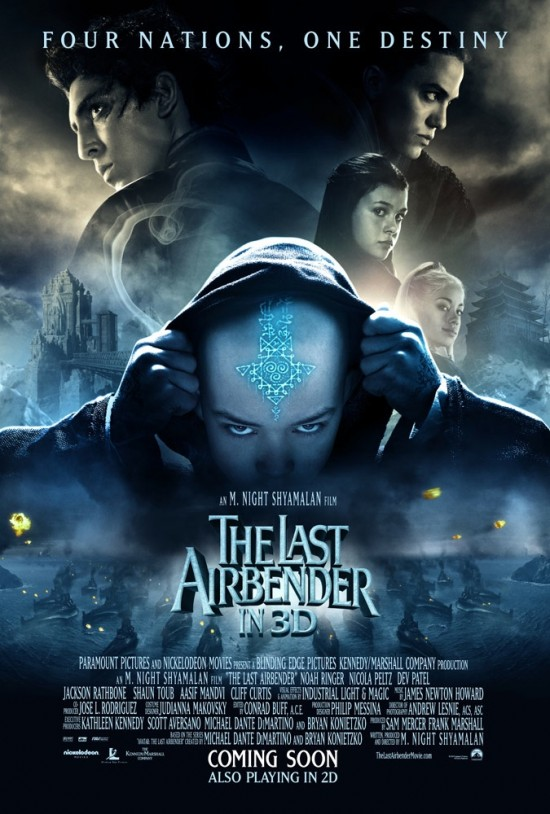 the last airbender movie the last airbender official