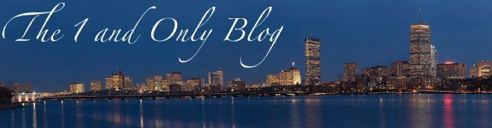 The 1 And Only Blog