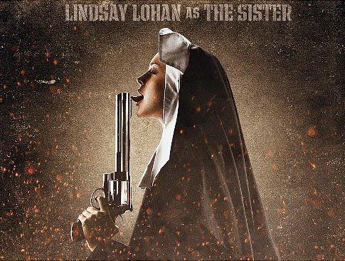 lindsay lohan machete picture. Lindsay+lohan+machete+pool
