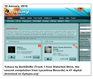 Lycantrop Records Distorted Shire darkpsy compilation