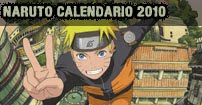naruto calendario 2010
