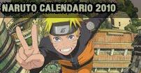 naruto calendario 2010