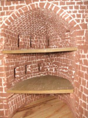 dioramas 1 72 ch teau fort en construction. Black Bedroom Furniture Sets. Home Design Ideas