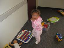 Mia at Gracie's Pre-school