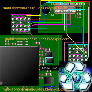 nokia e63 display jumper track ways