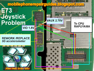 nokia e73 not working optical joystick repair